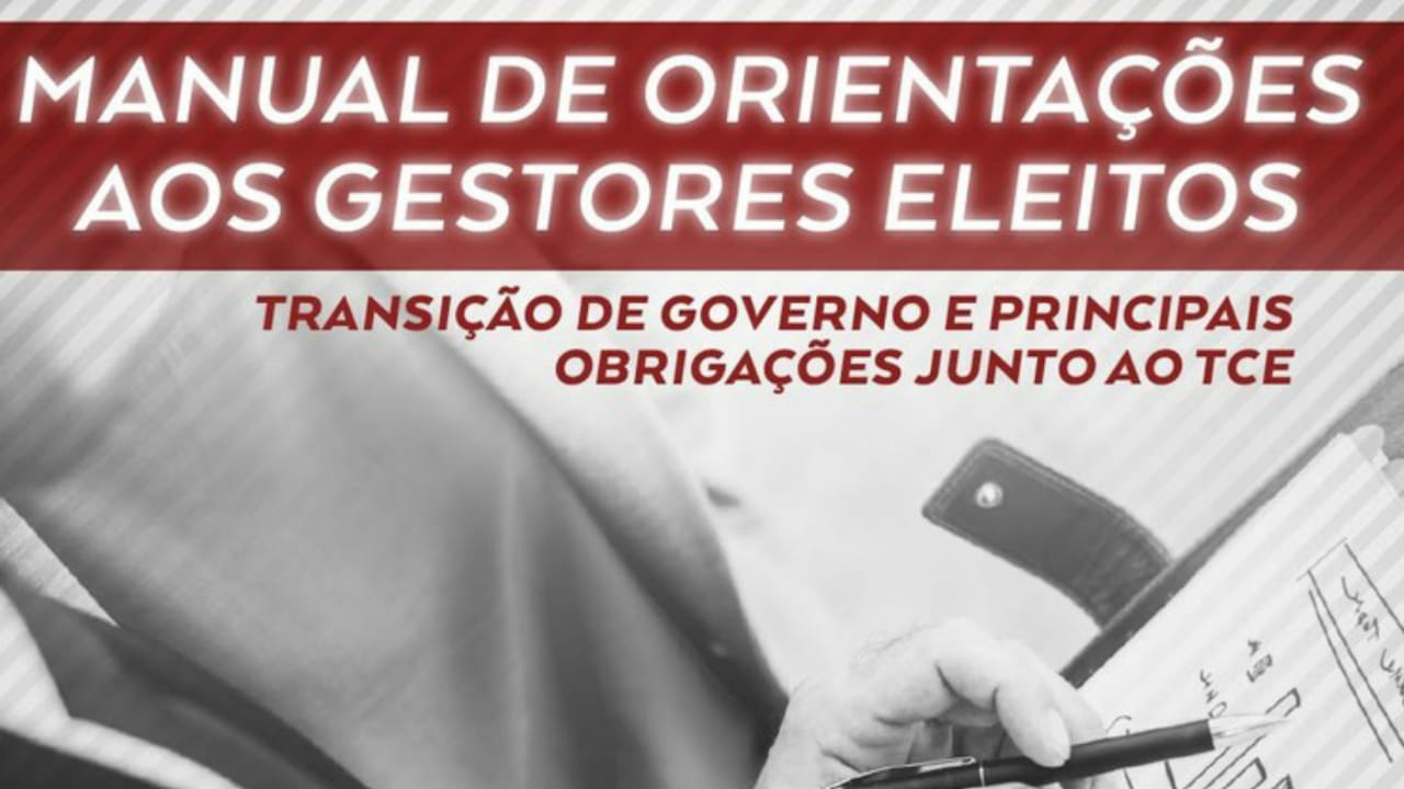 TCE-PB ORIENTA PARA TRANSIÇÃO DE GOVERNO MUNICIPAL E AS OBRIGAÇÕES JUNTO À CORTE